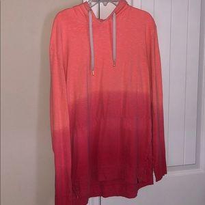 Ombré pink American Eagle hoodie